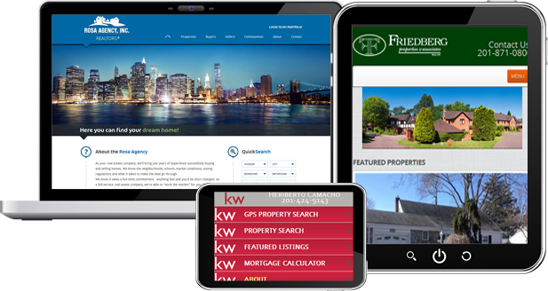 Semi-Custom Websites for REALTORS